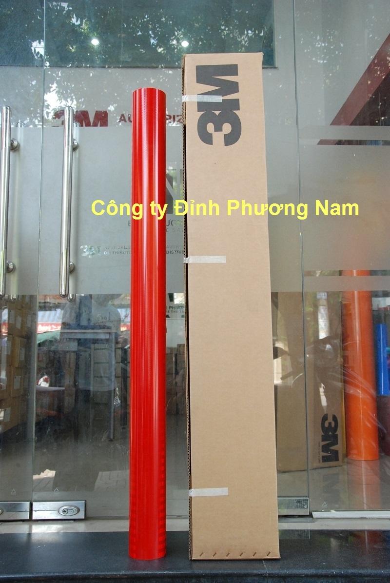 Màng phản quang 3M series 3400 - Màu Đỏ
