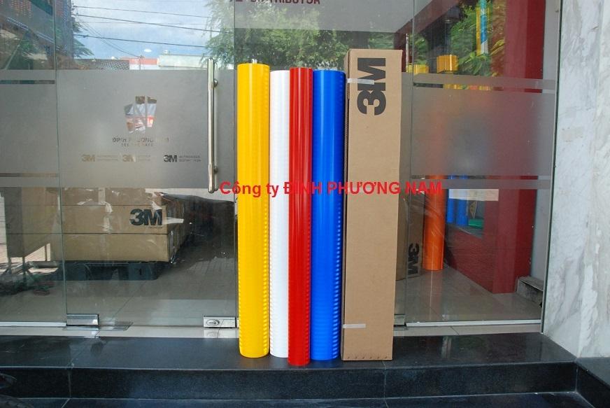 Màng phản quang 3M series 3400 - Màu Xanh/Đỏ/Vàng/Trắng