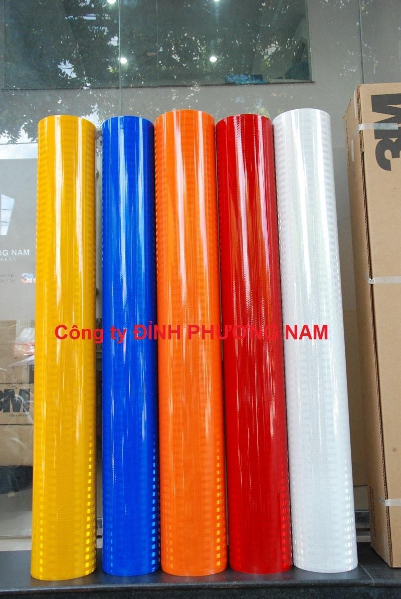 Màng phản quang 3M series 3900 - Màu Xanh/Đỏ/Vàng/Trắng