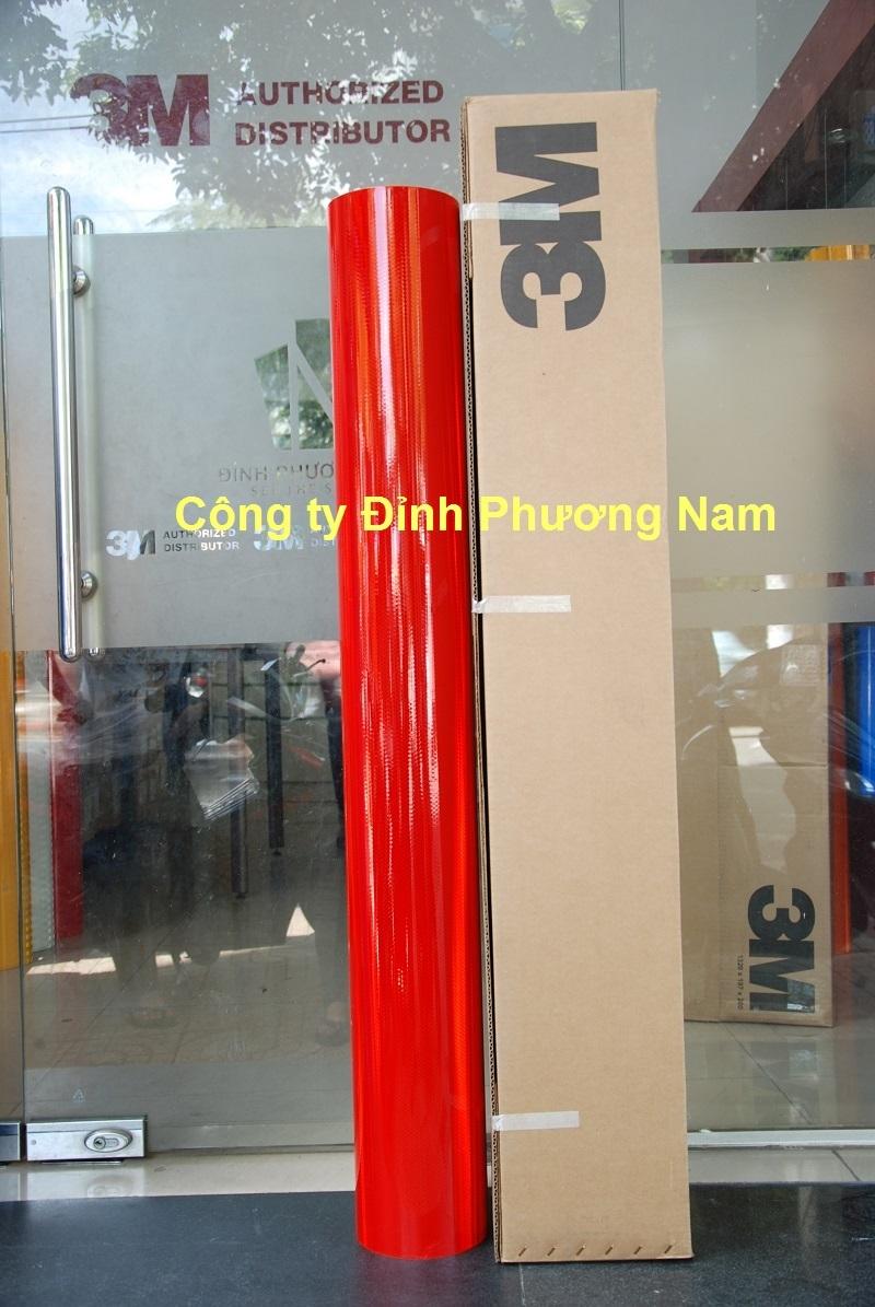 Màng phản quang 3M series 4000 - Màu Đỏ