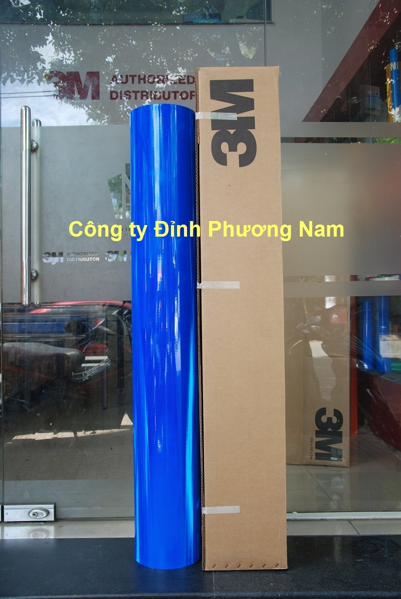 Màng phản quang 3M series 4000 - Màu Xanh Lam
